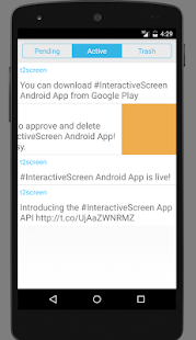 Interactive Screen App- screenshot thumbnail