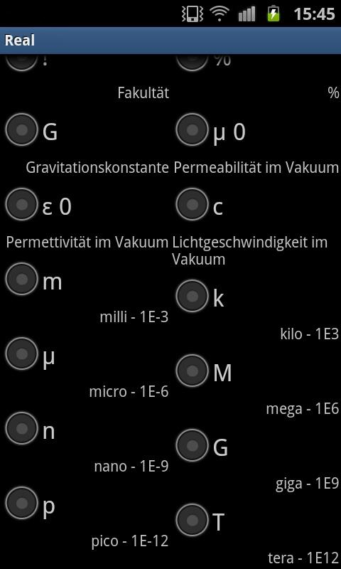 RealMath Calculator Free- screenshot