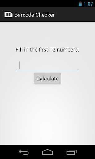 Barcode Checker