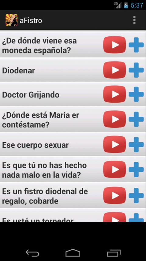 aFistro - Sonidos de Chiquito - screenshot