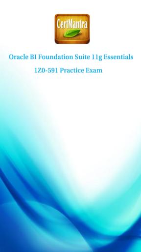 Oracle BI 11g 1Z0-591 Prep