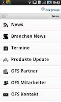 Screenshot of OFS Group