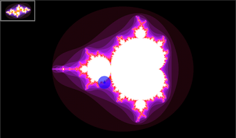 Screenshot of Mandelbrot Maps