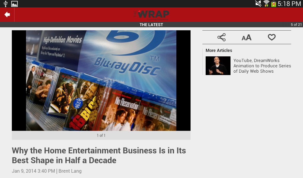 TheWrap.com- screenshot