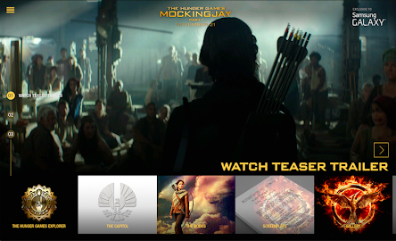 The Hunger Games Movie Pack Screenshot 5