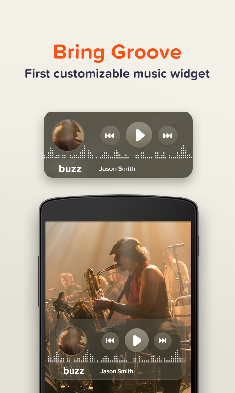 Buzz Widget - screenshot