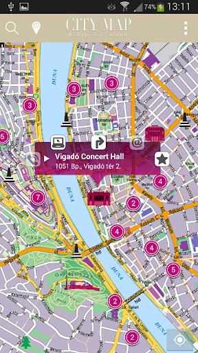 旅遊必備APP下載 CityMap Budapest 好玩app不花錢 綠色工廠好玩App
