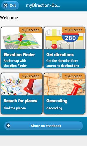 myDirection - Google map API's