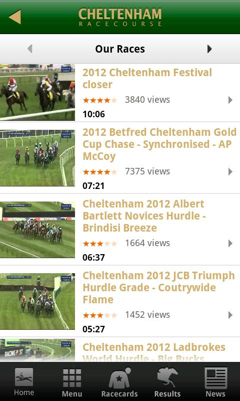 Cheltenham Racecourse - screenshot