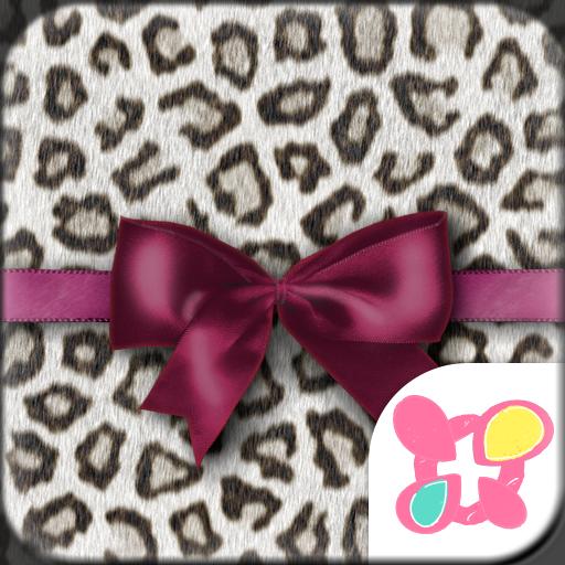 Fashion Theme Leopard & Ribbon Icon