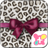 ★FREE THEMES★Leopard & Ribbon