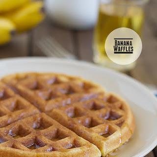 Banana Waffles.