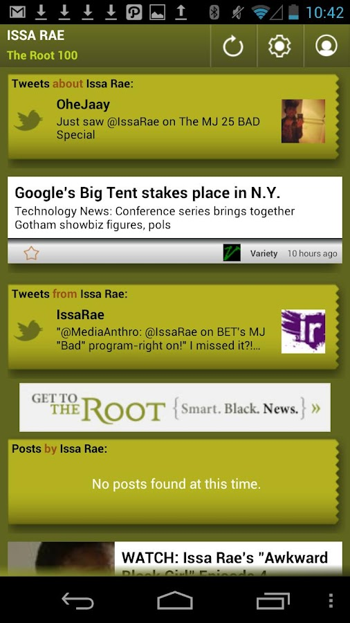 Issa Rae: The Root 100 - screenshot