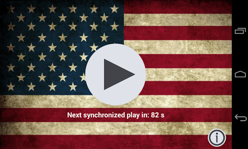 USA sychronized anthem
