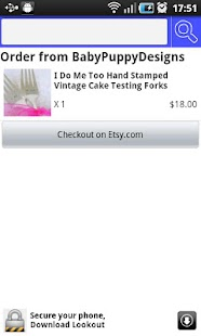 Etsy fAn - screenshot thumbnail