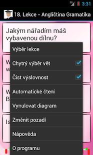Angličtina - Gramatika Screenshot 3