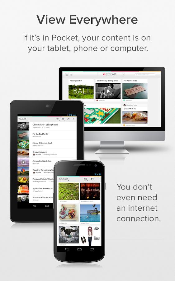 Pocket - screenshot