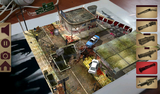 TableZombies Augmented Reality – képernyőkép indexképe