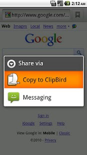 ClipBird - screenshot thumbnail