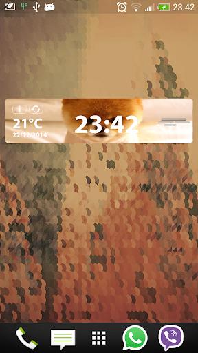 免費下載天氣APP|可愛い時計天気ウィジェット app開箱文|APP開箱王