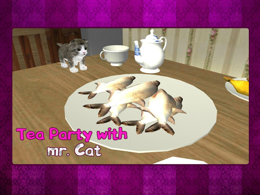 Tea Party With Mr. Cat