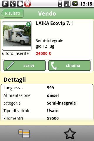 TrovoCamper- screenshot