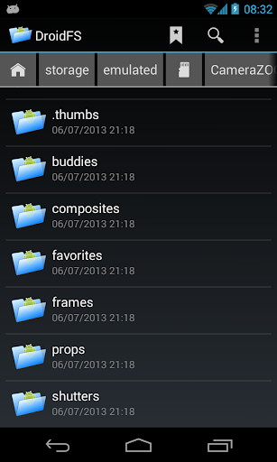 File Manager DroidFS