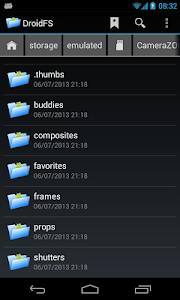 File Manager DroidFS screenshot 0