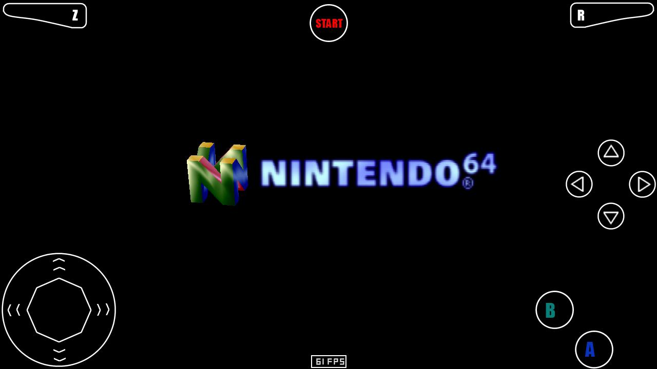 M64 emulator- screenshot