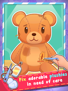 Plush Hospital - Cure Teddy Bears and Fluffy Pets- screenshot thumbnail