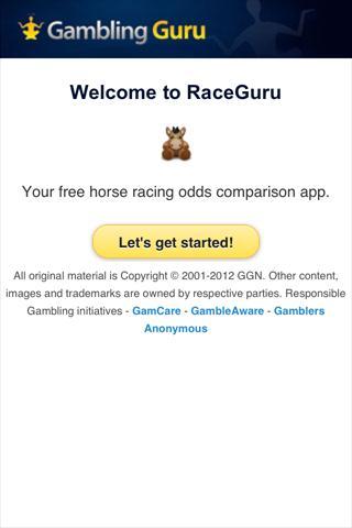 玩運動App|RaceGuru Odds Comparison免費|APP試玩