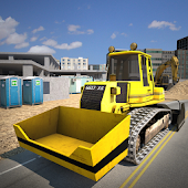 Construction Yard Simulator 3D