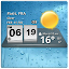 3D Digital Weather Clock APK for Blackberry