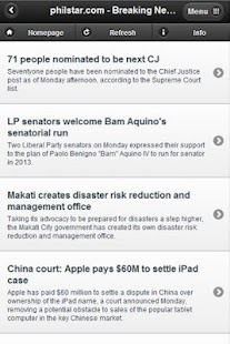 Philippines News Headline - screenshot thumbnail