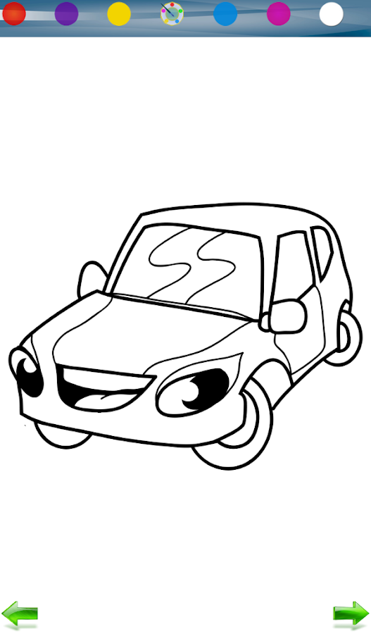 Race Car Coloring Game - Android Apps on Google Play