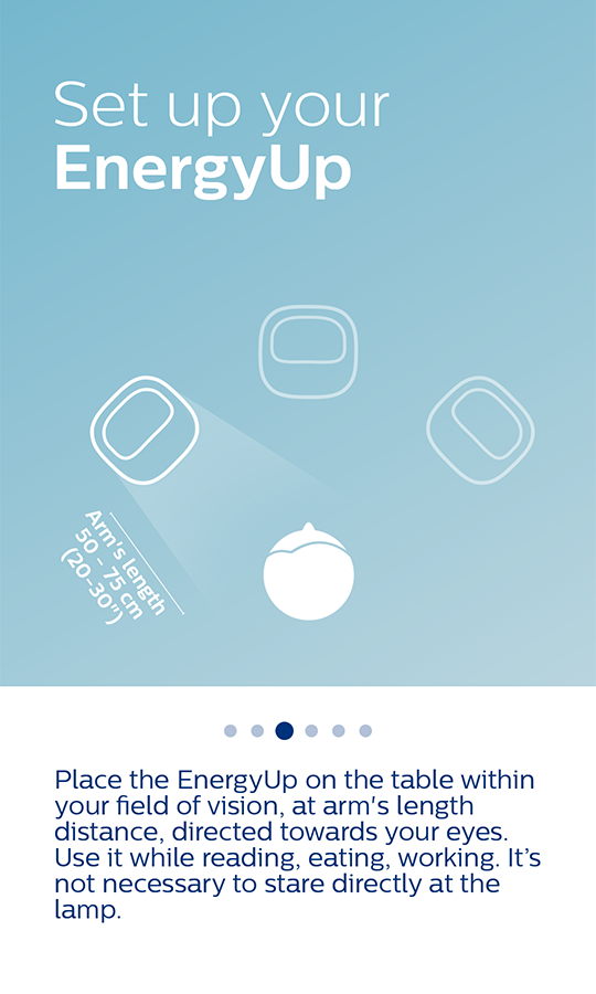 Philips energy light: screenshot