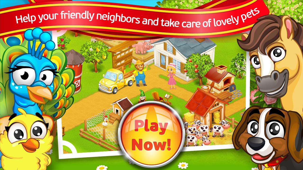 New Farm Town™:Day on Hay Farm - screenshot