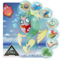 Fishland Cartoon Go Launcher logo