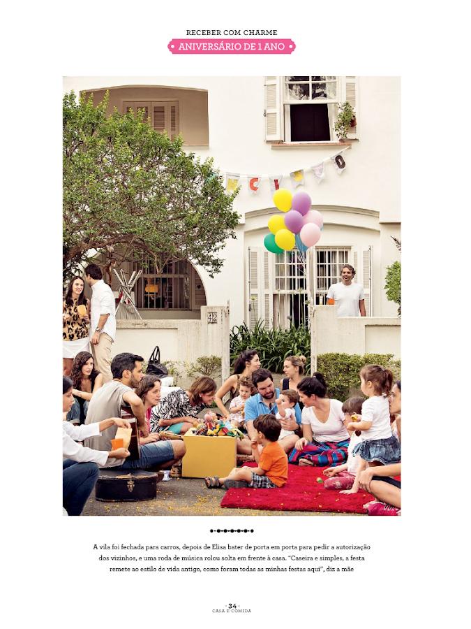 Revista Casa e Comida - screenshot