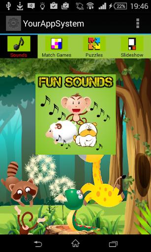 Cute Animal Games App