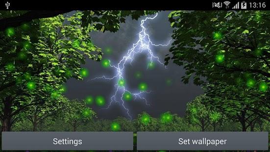 玩免費娛樂APP|下載Fireflies Live Wallpaper app不用錢|硬是要APP