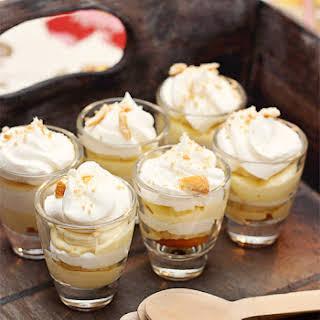 Banana Pudding Shots.