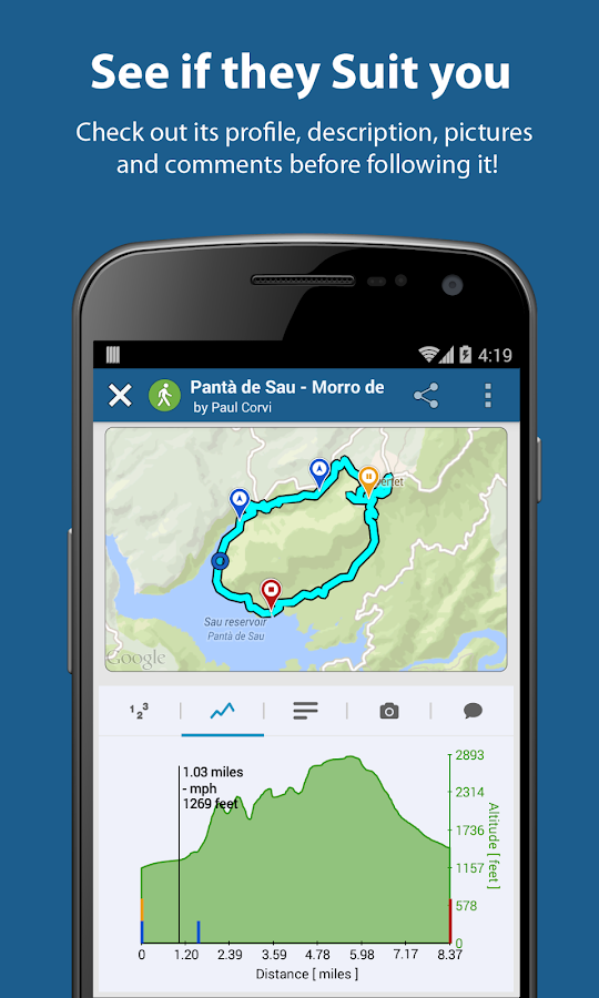 PinRoute - Trail Tracker- screenshot