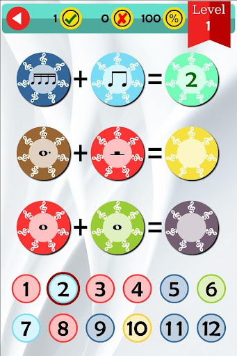 Music Math Counting Rhythms