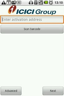 ICICI Bank i-safe - screenshot thumbnail