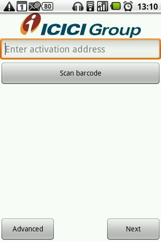 ICICI Bank i-safe- screenshot