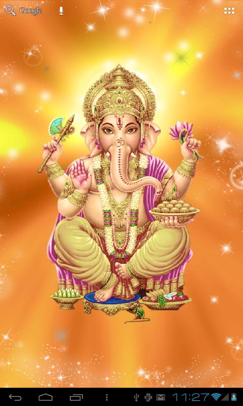 animated ganesha wallpaper for mobile