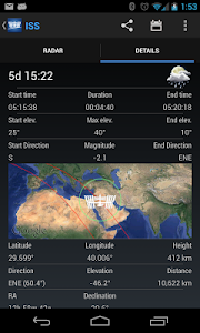 ISS Detector Satellite Tracker v2.00.69