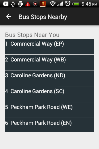 London Bus Timer - Free- screenshot
