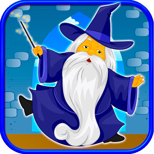 Magic Wizard Blaster Jump Jinx LOGO-APP點子
